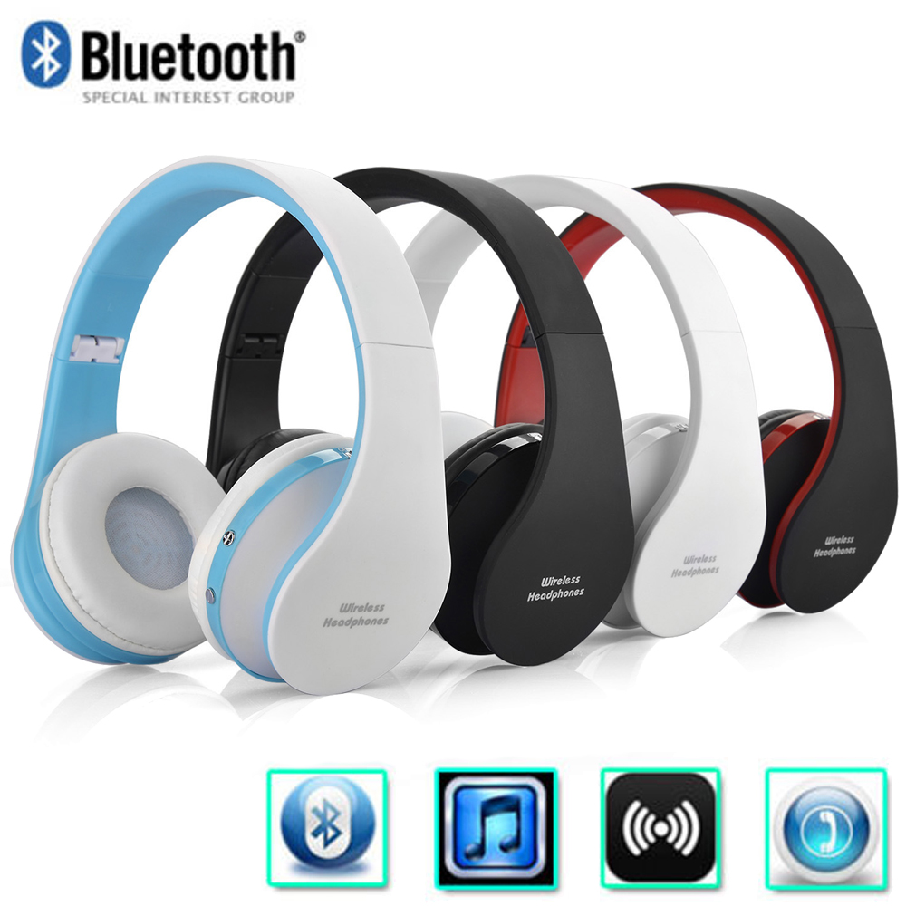 foldable wireless stereo bluetooth headsets headphones for. Black Bedroom Furniture Sets. Home Design Ideas
